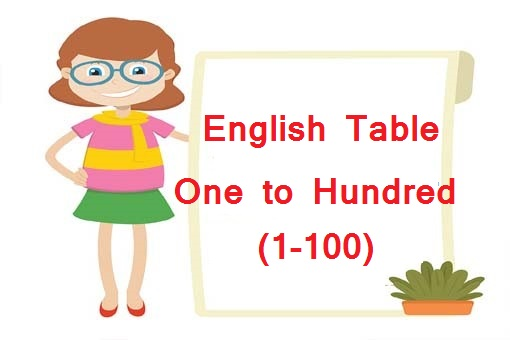 English Table
