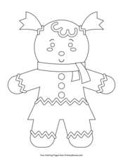 Christmas Coloring Pages • FREE Printable PDF from