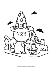 Halloween Coloring Pages • FREE Printable PDF from