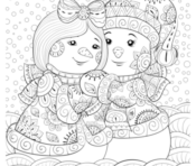 Winter Coloring Pages  E  A Free Printable Pdf From Primarygames