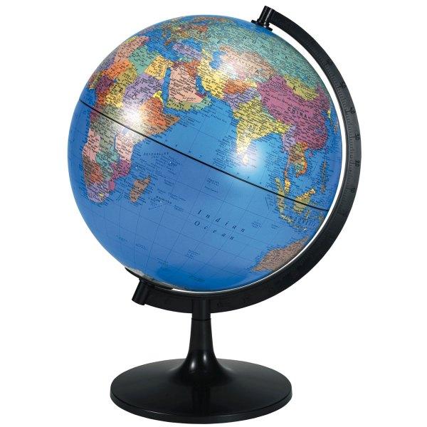 Buy Political World Globe 280mm CD57007 Primary ICT