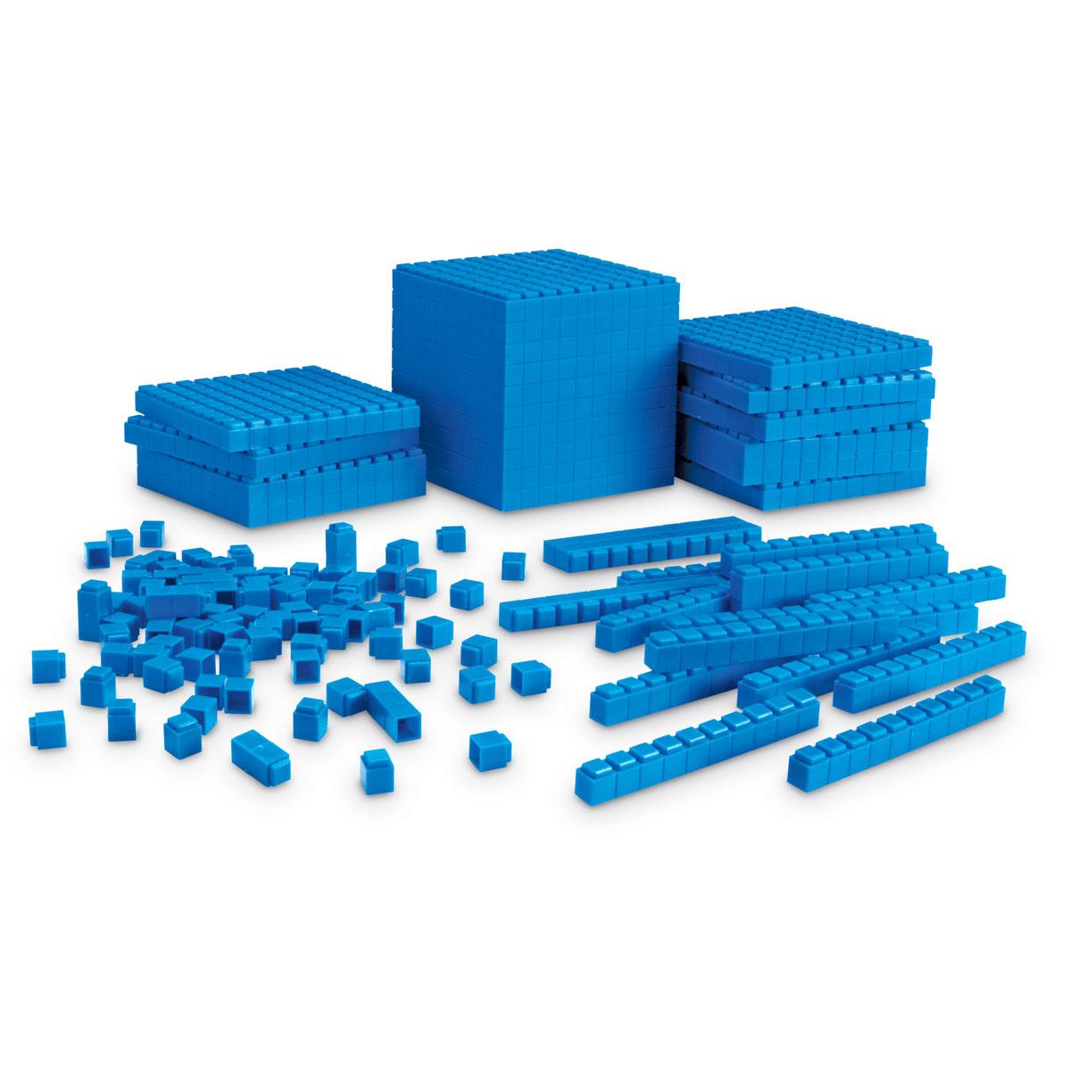 Base 10 Interlocking Plastic Rods Starter Set