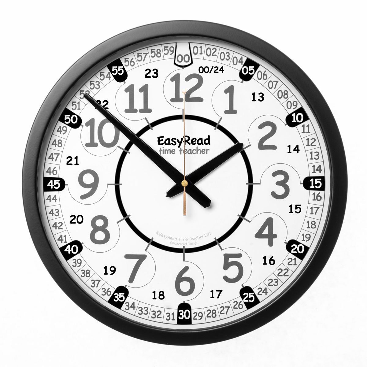 Easy Read Time Teacher Playground Clock