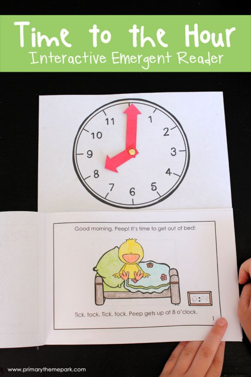small resolution of Time Activities for First Grade - Primary Theme Park