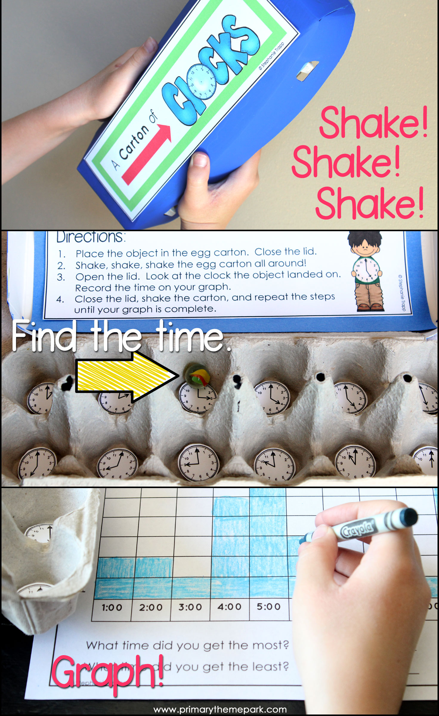 Time Activities For First Grade