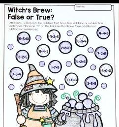 Halloween Math Activities - Primary Theme Park [ 1200 x 736 Pixel ]