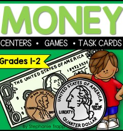 Money Activities for Second Grade - Primary Theme Park [ 900 x 900 Pixel ]