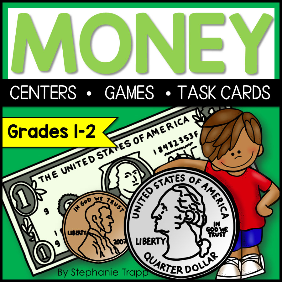 hight resolution of Money Activities for Second Grade - Primary Theme Park