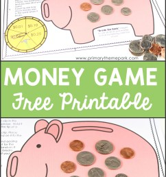 Money Activities for Second Grade - Primary Theme Park [ 2400 x 1476 Pixel ]