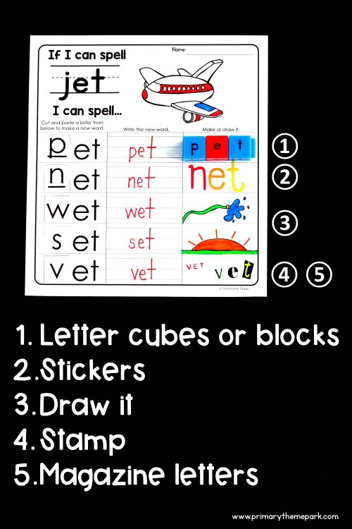small resolution of If I Can Spell Worksheets - Primary Theme Park