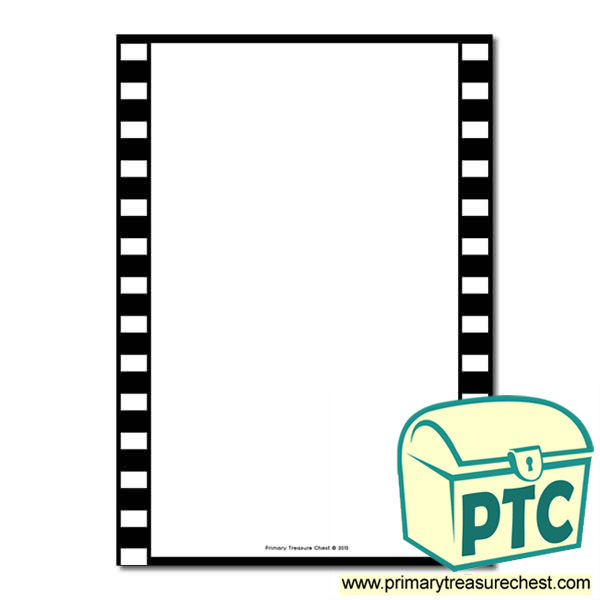 Camera Film Themed Page Border/Writing Frame (no lines