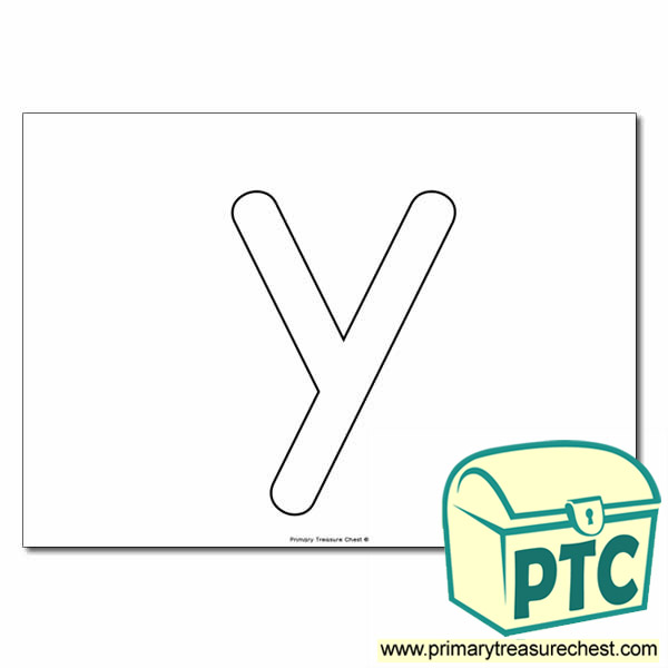 Y Bubble Letter Formation Activity No Images Primary
