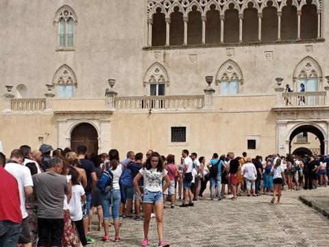 Castello di Donnafugata, visite record a gennaio