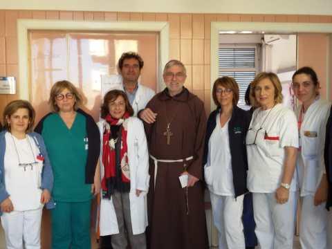 Caltagirone, visita vescovo in ospedale