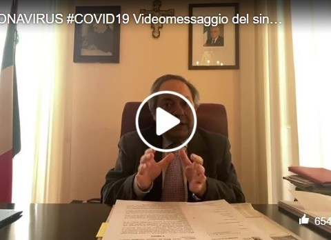 Caltagirone, coronavirus, messaggio sindaco Ioppolo 28 marzo
