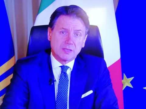 Coronavirus, nuove misure del presidente del Consiglio Giuseppe Conte