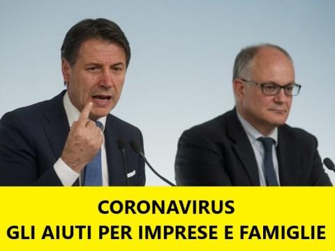 Emergenza coronavirus, decreto salva economia per imprese e famiglie