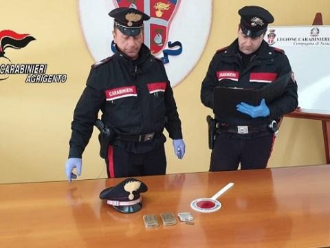 cronaca Agrigento, arresto per droga