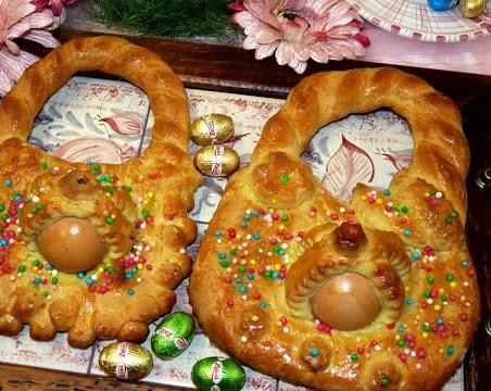 ricette veloci, i panareddi di Pasqua