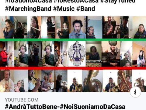 Caltagirone, associazione musicale Luigi Sturzo suona Azzurro