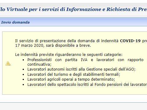 Inps Bonus 600 euro, difficoltà ad accedere al portale