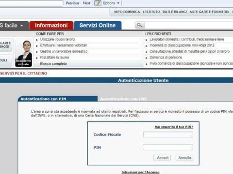 accesso sito INPS, info Reddito di Emergenza