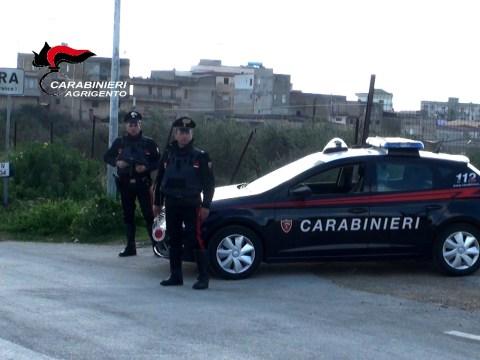 carabinieri Agrigento Ribera