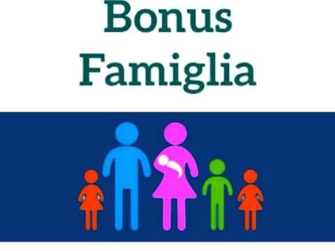 Bonus Famiglia per ogni figlio
