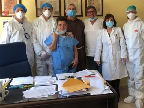 Caltagirone, visita a sorpresa del vescovo in ospedale