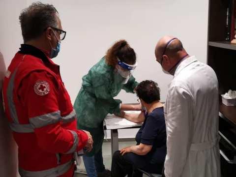 Test sierologico effettuato anche a Mazzarrone