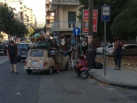 Caltagirone, Renault 4 fa tappa in città
