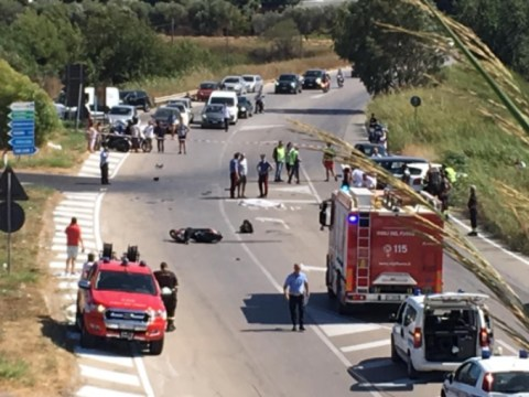 Incidente mortale a San Leone, Agrigento