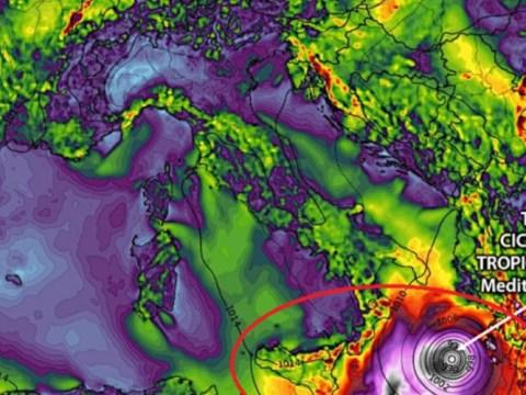 METEO SICILIA - Ciclone tropicale in arrivo, previsti violenti temporali