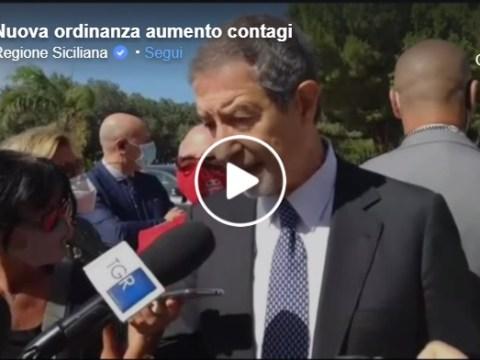Musumeci annuncia nuova ordinanza e nuove restrizioni VIDEO