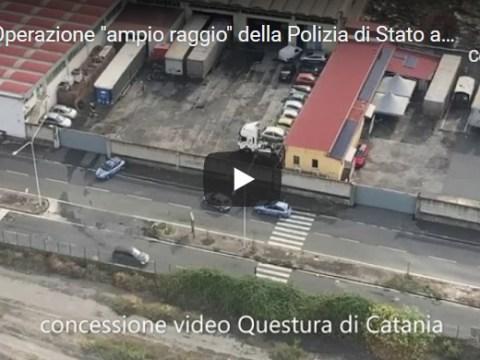 Operazione ampio raggio della Polizia anche a Caltagirone VIDEO