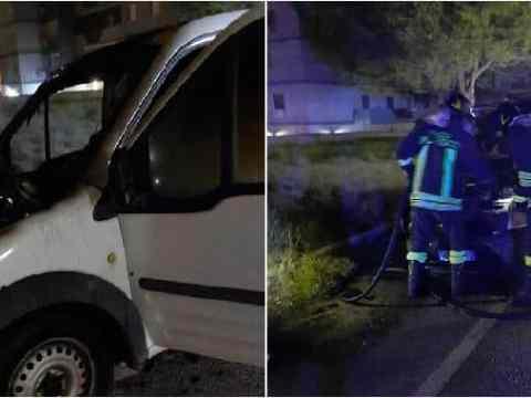 furgone bruciato marito avvocatessa centro antiviolenza Ipazia