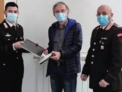 Caltagirone furto Alessio Narbone restituito materiale informatico
