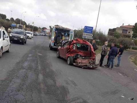 incidente stradale a Vittoria oggi