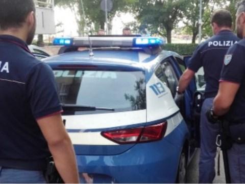 volante polizia arresto