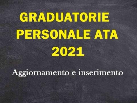 graduatorie terza fascia ATA