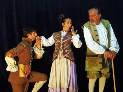 """""""Il Conte che non conta"""", terzo spettacolo a Caltagirone della Rassegna teatrale """"Teatrinfiniti""""."""