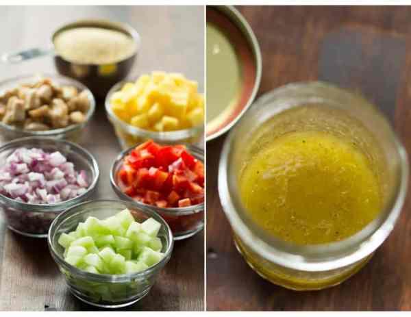 Chicken and Mango Couscous Salad Primavera Kitchen