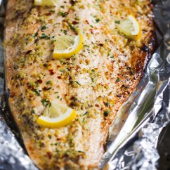 Kitchen Whisk Small Sink Garlic Butter Salmon In Foil Recipe - Primavera