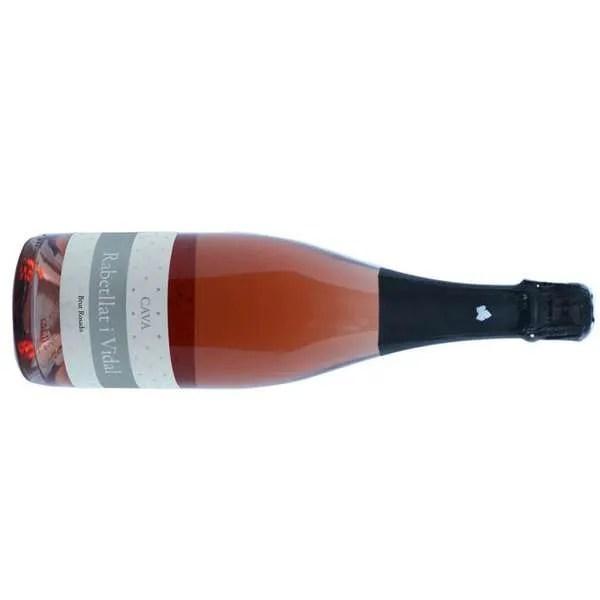 CAVA RABETLLAT I VIDAL Brut Rosado Cava elaborado a partir de las variedades Trepat y Garnatxa.