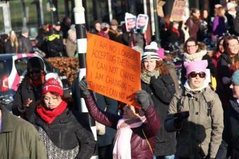 vrouwen demo den haag 028