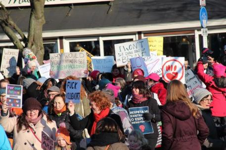 vrouwen demo den haag 030