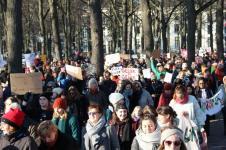 vrouwen demo den haag 043