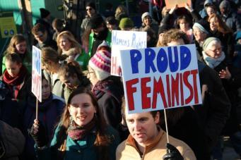vrouwen demo den haag 058
