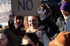 vrouwen demo den haag 059