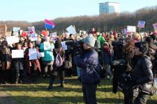 vrouwen demo den haag 085